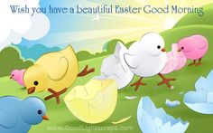 Good Morning and Happy Easter Quotes Happy Easter Quotes, Happy Easter Day, Cute Easter Pictures, Chicken Holiday, Cover Photo Maker, Ostern Wallpaper, Photo Editor Free, Easter Hunt, Hd Wallpaper Desktop