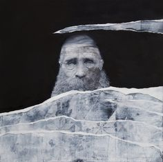 "Pedro Matos - ""Estranha forma de vida"" Oil on canvas, 100x100 cm, 2012"