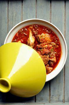 poulet basquaise - recette clic sur photo