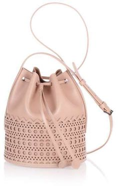 Alaïa Nude leather bucket bag - $2,600.00