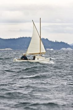 """SCAMP - Small Craft Advisor Magazine Project - reminds one of Robert Manry's """"Tinkerbelle"""""""