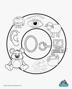 O Preschool Sight Words, Learning Sight Words, Baby Learning, Learning Spanish, Alphabet Activities, Preschool Activities, English Book, Pre Writing, Play To Learn