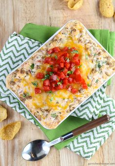 Cheesy Sausage Dip...  dips are my favorite appetizers!  This one sounds great!