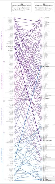 #Dataviz Gender Development Index by STUDIO TERP