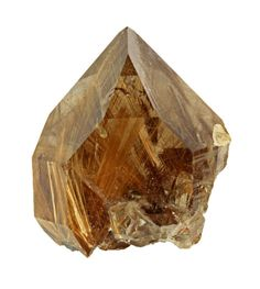 Quarts with rutile needles making each one unique and different, from Russia. common name is Rutilated quartz