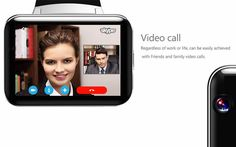 DM98 3G Smart Watch Phone 320*240HD Resolution 2.2Inch Large Screen 3G WIFI GPS Support For Android