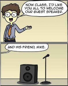 BFFs! #Speaker #Mike #Joke #Funny #Pun