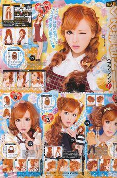Japan gyaru fashion magazine - koakuma ageha