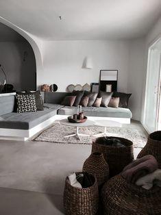 Living room in Mediterranean style