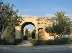 Cleopatra's Gate in Tarsus, Turkey -- I will be running through this as part of the course for my first 1/2 marathon!!