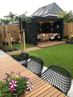 Back Garden Design, Small Backyard Design, Backyard Patio Designs, Small Backyard Landscaping, Backyard Ideas, Patio Ideas, Patio Decorating Ideas On A Budget, Diy On A Budget, Porch Decorating