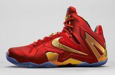 "innovative design 5ef67 23686 Nike Lebron 11 Eite SE – ""University RedMetallic Gold""- http"