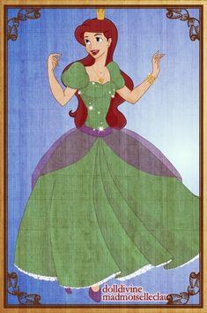 Princess Ariel by PinkPetalEntrance.deviantart.com on @deviantART