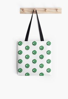 'The JellyPearl No.03 All Over Print Tote Bag, print design by Asmo Turunen. #design #totebag #shoppingbag #atcreativevisuals