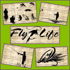 Fly Fishing SVG - Fishing SVG files - Fly Fishing Silhouette SVG Files for Cricut and Silhouette by TopNotchCraftsCo on Etsy