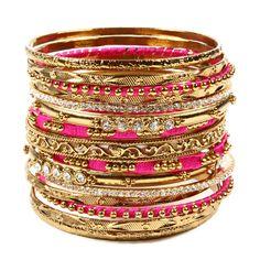 Amrita Singh | Mallika Bangle Set - Fashion Bracelets - Bangle Bracelets