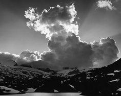 """""""Thundercloud,"""" Ansel Adams"""