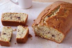 Una Pizca de Hogar: Pan de plátano con chocolate (banana bread)