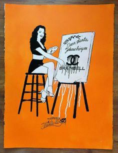 #popart #screenprint #artprint #retro #pinup #stencil #streetart #banksy
