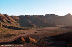 Zona restringida - Foto sacada en el Parque nacional del Teide (Tenerife)