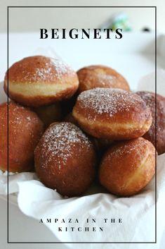 Recettes des beignets comme chez le boulanger  #goûter #beignets #recettefacile Comme, Hamburger, Bread, Kitchen, Desserts, Articles, Food, Honey, Making Donuts
