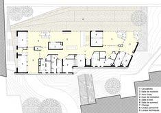 W.R.A. | La Crèche en Papier 44 places pour la DFPE au coeur du haut Belleville un bâtiment paysage.