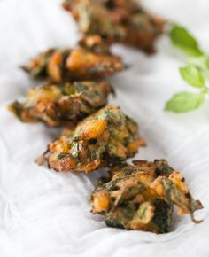 Yummy Supper: VEGGIE FRITTERS
