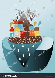 Find Colourful Houses On Mountain On Ocean stock images in HD and millions of other royalty-free stock photos, illustrations and vectors in the Shutterstock collection. Thousands of new, high-quality pictures added every day. House Colors, Royalty Free Stock Photos, Mountain, Trees, Ocean, Houses, Illustration, Nature, Pictures
