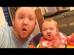 This Dad Used An App To Switch Faces With His Baby And It's Both Hilarious And Scary