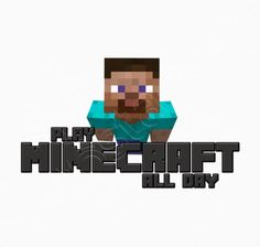 Camiseta PLAY MINECRAFT ALL DAY