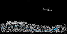 """La imagen pertenece a """"Mensajes en botellas"""", libro de Mirta Colángelo editado por el Museo Taller de Bahía Blanca, con diseño e ilustraciones de Carlos Mux y Guillermo Beluzo MUSEO TALLER: julio 2011"""