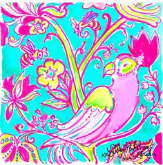 Lilly Pulitzer  The Birds and The Bees