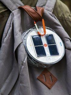 Just clip, charge, and go - Luci Outdoor. Inflatable Solar Light | Outdoor Lighting | Camping | Hiking