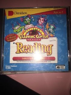 DAVIDSON'S LEARNING CENTER SERIES READING WITH PHONICS WIN/MAC CD ROM