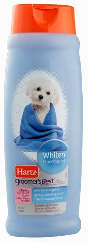 Hartz Groomer's Best® Dog Shampoo Whiten Cherry Blossom -- 18 fl oz(pack of 2) *** Check out this great product. (This is an affiliate link and I receive a commission for the sales)