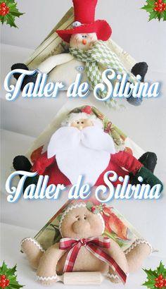 Clara Pincay's media content and analytics Christmas Crafts, Xmas, Christmas Ornaments, Wood Crafts, Diy And Crafts, Felt Fabric, Felt Ornaments, Snowman, Origami