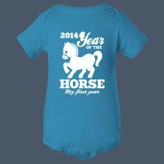 2014 Year of the Horse calendar t-shirt by airwaves custom tees