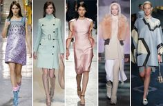 19 Key Trends From the Fall 2014 RunwaysPretty Pastels One does not need a degree in fashion to know that spring/summer has the monopoly on pastels, but this season proved different. An increasing focus on seasonless dressing may have a little something to do with it. But then again, there's just something alluring about minty greens, lilacs and baby blues.