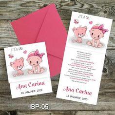 Invitatii botez fetite – Marturii Botez baietei si fetite Place Cards, Place Card Holders