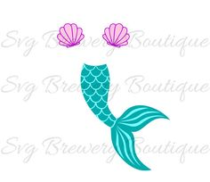 Check out this item in my Etsy shop https://www.etsy.com/listing/515146682/mermaid-tail-clam-shell-svg-layered-png