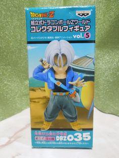 New Dragon Ball Z DWC World Collectable Figure Vol.5 035 Trunks Mega Rare
