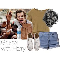 REQUESTED: Ghana with Harry by style-with-one-direction on Polyvore featuring Topshop, Somedays Lovin, Converse, OneDirection, harrystyles, 1d and harry styles one direction 1d