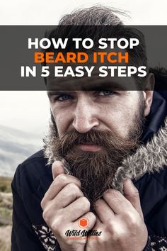 Beard oil helps to get rid of beard itch by nourishing your sebaceous glands. It helps make up for the lack of sebum. The good news is that beard itch isn't permanent! If your itchy beard is driving you absolutely bonkers, know that there are remedies for that. How do you stop and prevent an itchy beard? What specific techniques and products work best for beard care? #wildwillies has all the info you need. Beard Growth, Beard Care, Hair And Beard Styles, Short Hair Styles, Growth Supplements, Best Beard Oil, Natural Beard Oil, How Do You Stop, Beard Tattoo