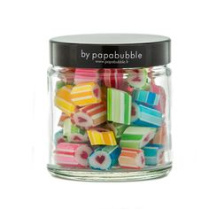 Les bonbons Je t'aime PAPABUBBLE - 70g www.mongardemanger.com