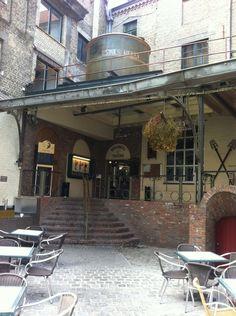 Brouwerij De Halve Maan in Bruges, West-Vlaanderen. A family-owned brewery and creator of the famous 'Brugse Zot' beer