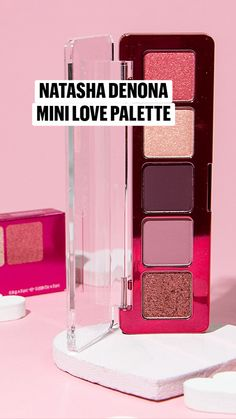 Make Up Inspiration, High End Makeup, Makeup For Green Eyes, Eyeshadow Palette, Swatch, Love, Mini, Beauty, Make Up Eyes