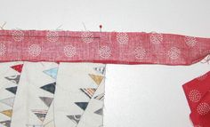 binding11 Mock Hand Quilt Binding by Machine