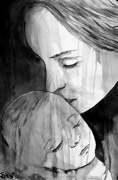 """Motherhood"": Loui Jover."