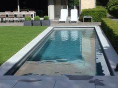Piscine couloir de nage coque, bassin de nage