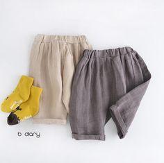 B Diary Linen Pants (2C)